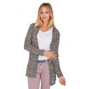 wholesale Fashion & Apparel: Ladies cardigan melange, anthra