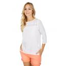 mayorista Otro: Señoras de la  blusa de encaje, blanco