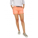 Ladies shorts with belt, camelia