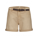 Großhandel Schmuck & Uhren: Damen Shorts with belt, beige as ori.