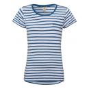 Camiseta T-Shirt rayas, azul / blanco, talla S.