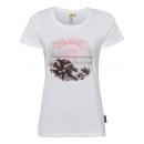 wholesale Fashion & Apparel: Women's Print T-Shirt Beach, white