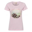 ingrosso Ingrosso Abbigliamento & Accessori: T-Shirt stampata T-Shirt Beach, rose