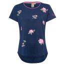 Flower T-Shirt , navy