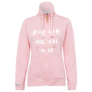 Damen Sweatjacke, rose