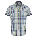 wholesale Shirts & Blouses: Men's short-sleeved shirt checked