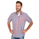 wholesale Shirts & Blouses: Men's short sleeve shirt checked