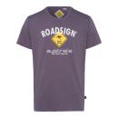 Men's T-Shirt Roadsign , anthracite, size L