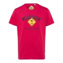 groothandel Kleding & Fashion: Heren- T-Shirt Roadsign , rood, maat L