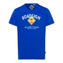 Großhandel Fashion & Accessoires: Herren T-Shirt Roadsign, royal, Größe M