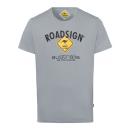 Großhandel Fashion & Accessoires: Herren T-Shirt Roadsign, grau, Größe M