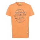 grossiste Vetement et accessoires: T-Shirt Homme Keep the Spirit, orange, col rond