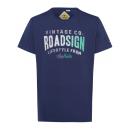 Men's T-Shirt Roadsign Vintage , navy, round n