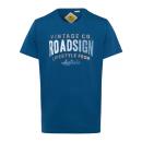 Men's T-Shirt Roadsign Vintage , blue, round n