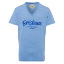Férfi T-Shirt Brisbane, királyi, V-nyakú
