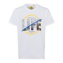 grossiste Vetement et accessoires: T-Shirt Homme Life, blanc, col rond