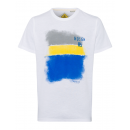 hurtownia Fashion & Moda: Męski T-Shirt City Sky, biały, okrągły dekolt