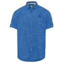 grossiste Chemises et chemisiers: Chemise a manches courtes Homme Citylife, bleu