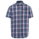 groothandel Kleding & Fashion: Heren overhemd Gecontroleerde golven, blauw