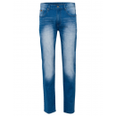 grossiste Vetements en jean: Pantalon en denim pour hommes, denim bleu, 33/34
