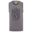 Großhandel Shirts & Tops: Herren Tank Top Sydney, anthrazit, Rundhals