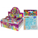 grossiste Cadeaux et papeterie: anneaux de nouage  Funky Silicon Ocean Colors - en