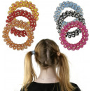 wholesale Drugstore & Beauty: Spiral hair bands - in the Display