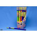 Großhandel Spielwaren: Wasserspritze  4-farbig 80 cm - im Display