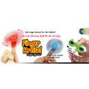 Finger centrifuga fidget spinner bagliore - in