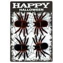 grossiste Cadeaux et papeterie: araignées au néon et noir