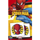 mayorista Artículos con licencia: Spiderman 2er  Tattoo Set - en Display
