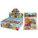 grossiste Cadeaux et papeterie: anneaux de nouage  Funky 300erBeutel silicone mélan
