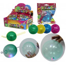Fun ballon bal glitter met licht - in het Display