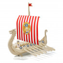 wholesale Wooden Toys:Wickie wooden boat