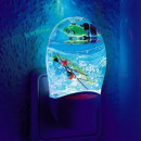 groothandel Home & Living: Aqua Night Light - in kleur box