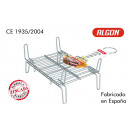barbecue grill 20x25cm double zinc alloy