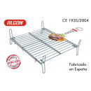 grill barbecue 35x40cm double galvanized algon