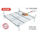 grill barbecue 40x40cm double galvanized algon