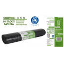 sacs poubelle 85x105g110100 l greentime eco