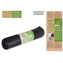 garbage bags 85x105g110100 L. biodegradable
