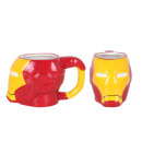 ceramic cup 410ml ironman 3d head