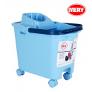 wholesale Car accessories: 14l cube with wheels, handle and drainer blue mery
