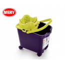 wholesale Car accessories: 14l bucket with wheels, mery automatic drainer