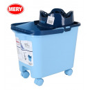 wholesale Car accessories: 14l cube with wheels, mery blue drainer