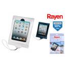 Großhandel Mappen & Ordner: transparente Tablet Tauchhülle 20x25cm