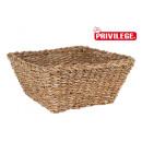 wholesale Organisers & Storage: wicker square basket 30x30x13cm privilege