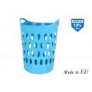 42x41x50cm flex basket 50lt blue