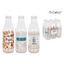 1l milk bottle 3 designs