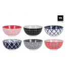 wholesale Decoration: appetizer bowl japo 15.5x7.7cm assorted 6 deco.ha