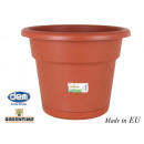 wholesale Household & Kitchen: flowerpot with plate 55cm greentime
